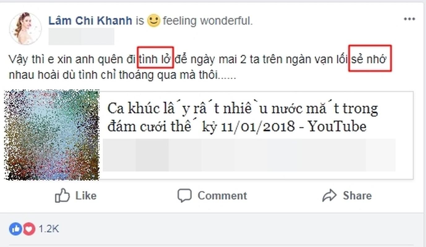 Hu hon Lam Khanh Chi: Status ngan nhung 3 loi chinh ta ai cung thay-Hinh-7