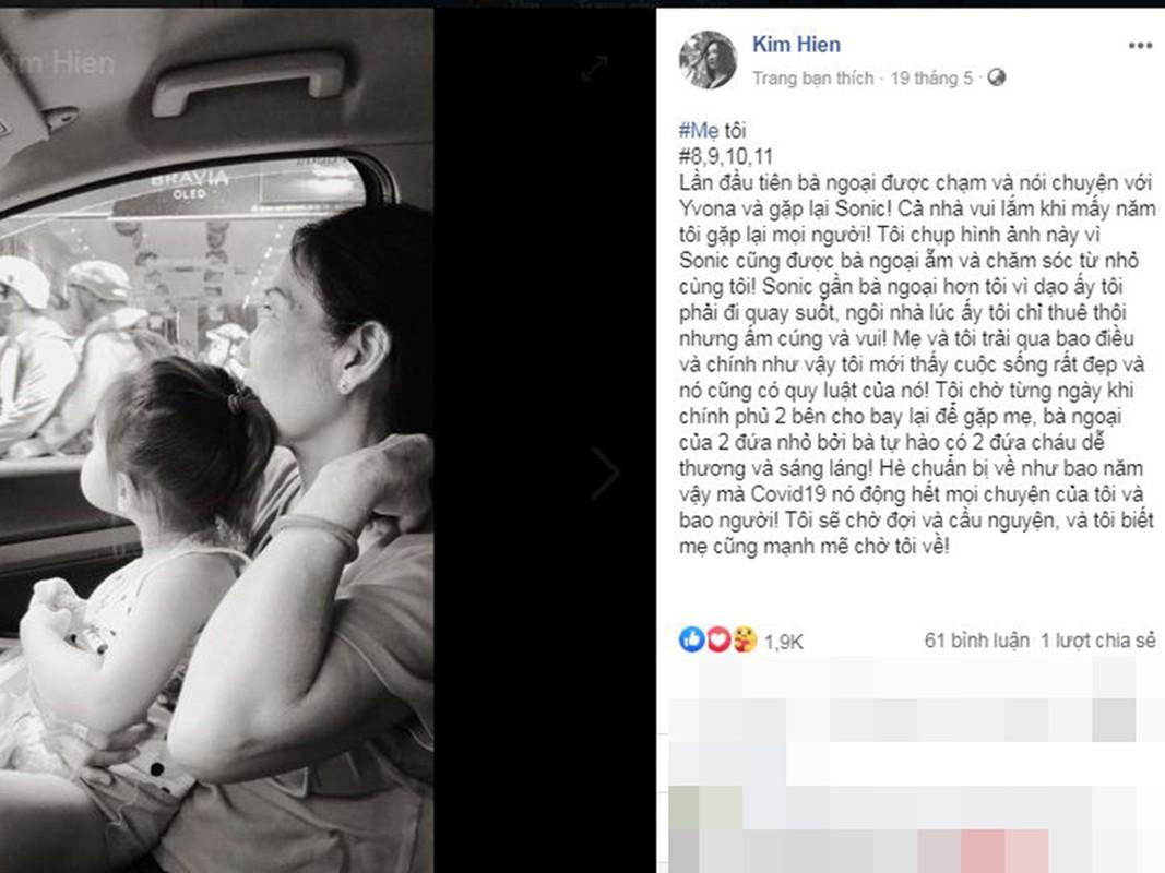 Me qua doi, Kim Hien dau xot khong the ve Viet Nam vi COVID-19-Hinh-14