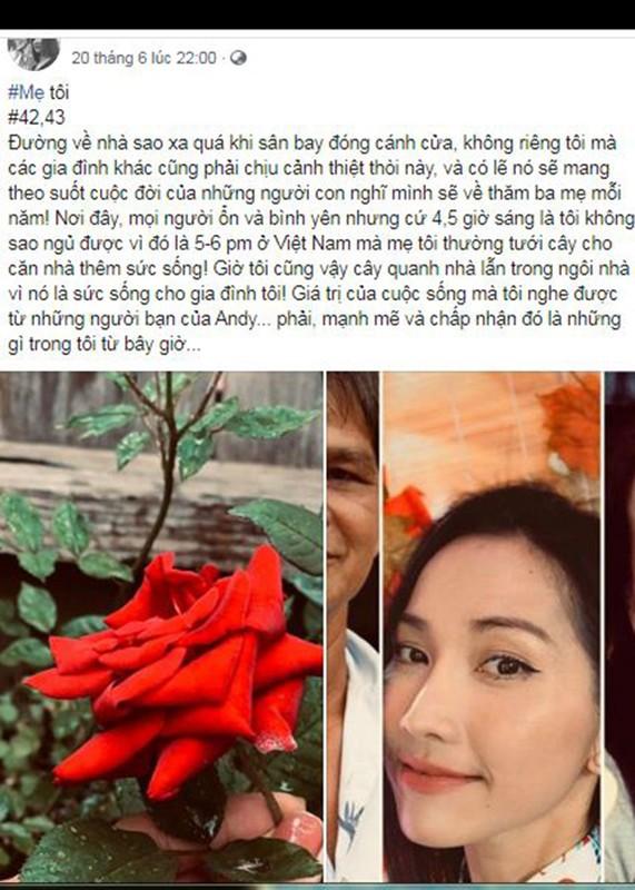 Me qua doi, Kim Hien dau xot khong the ve Viet Nam vi COVID-19-Hinh-4