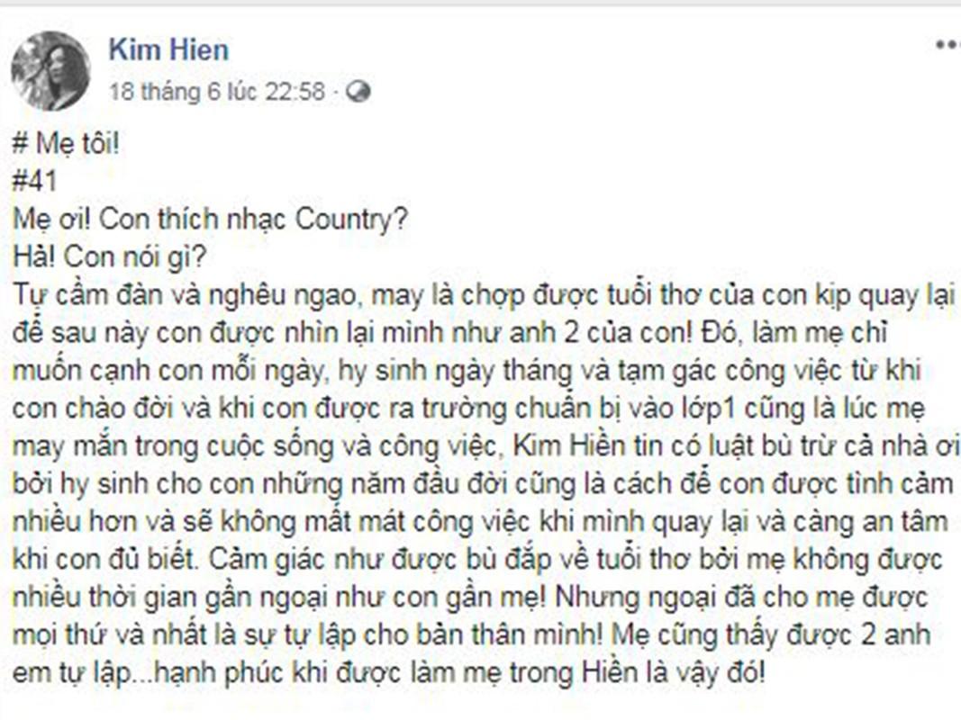 Me qua doi, Kim Hien dau xot khong the ve Viet Nam vi COVID-19-Hinh-5