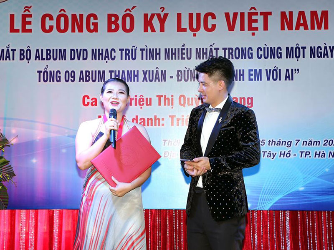Soi doi tu Trieu Trang - nghe si ra nhieu DVD nhat Viet Nam