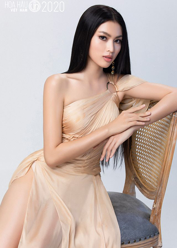 Ve goi cam cua hoc tro Vo Hoang Yen thi Hoa hau Viet Nam