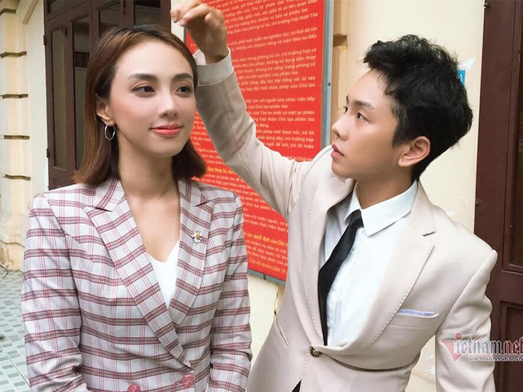 Miko Lan Trinh duoc nguoi yeu ung ho vu kien voi ong bau cu