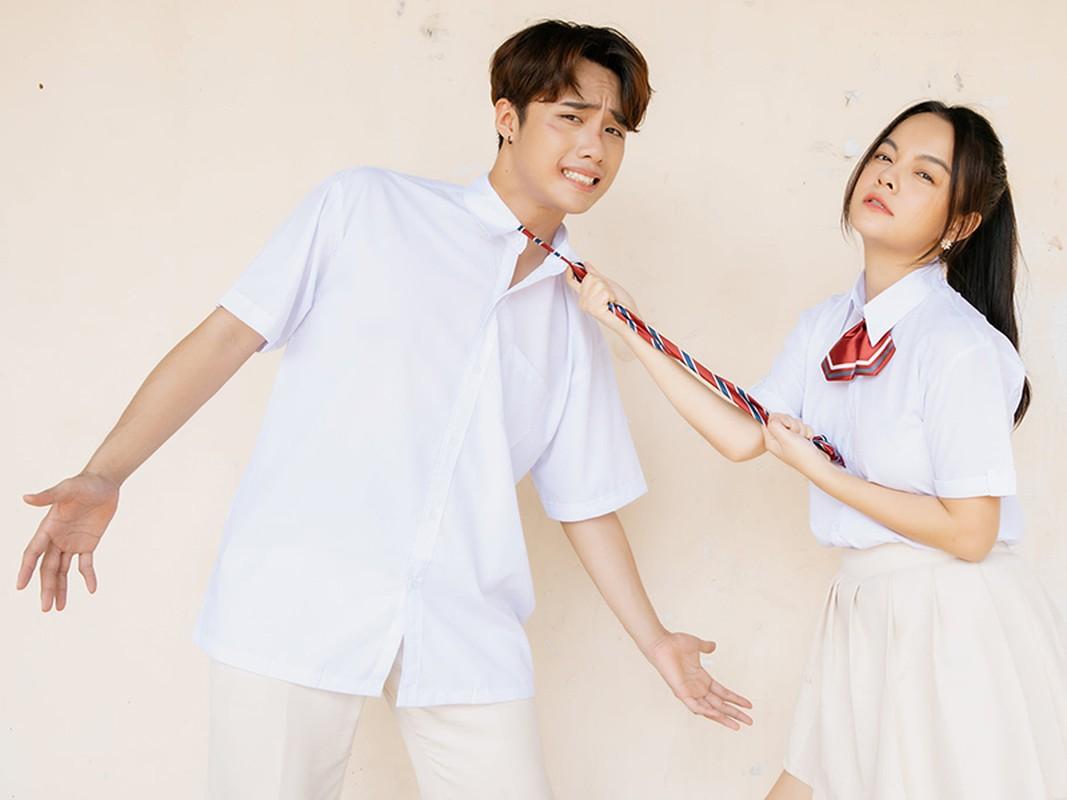 Soi hot boy 10X dong cap voi Pham Quynh Anh trong MV moi-Hinh-3