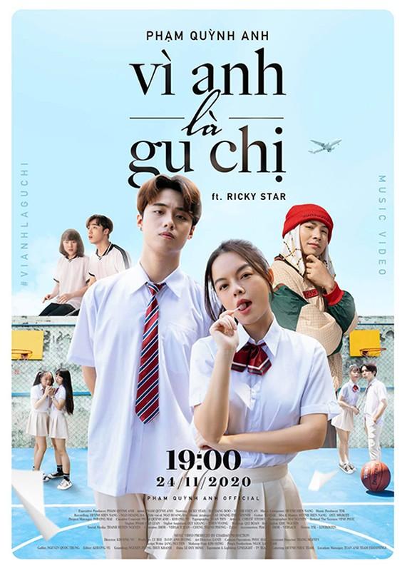 Soi hot boy 10X dong cap voi Pham Quynh Anh trong MV moi