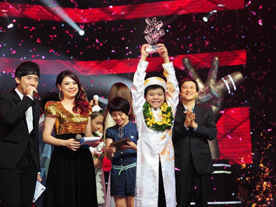 Quang Anh ra sao sau 7 nam dang quang Giong hat Viet nhi?