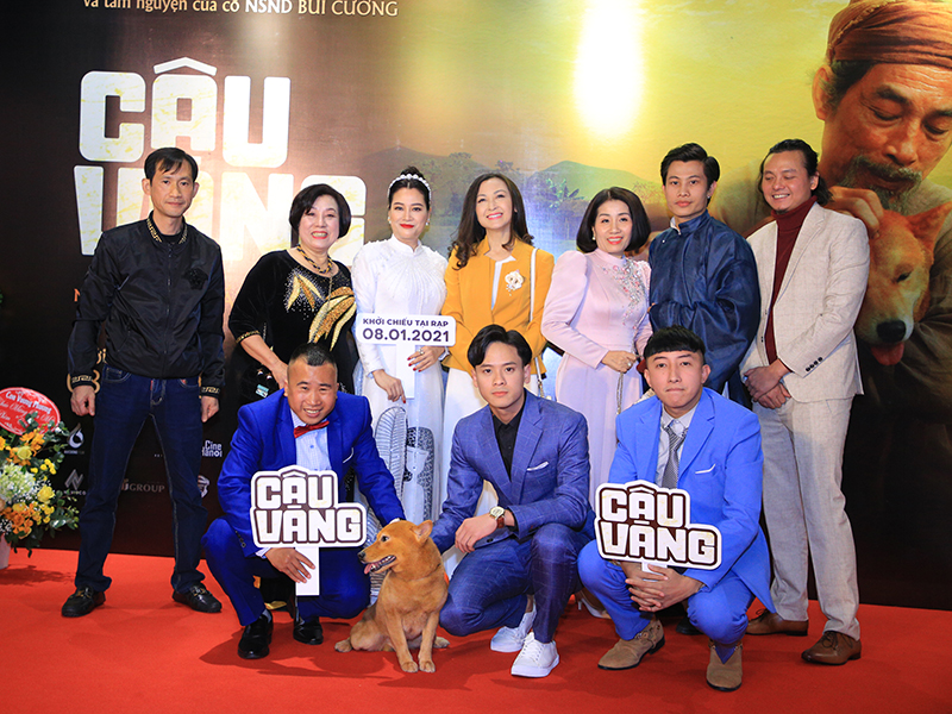 Cau Vang trinh dien ngoan muc tren tham do ra mat phim-Hinh-7
