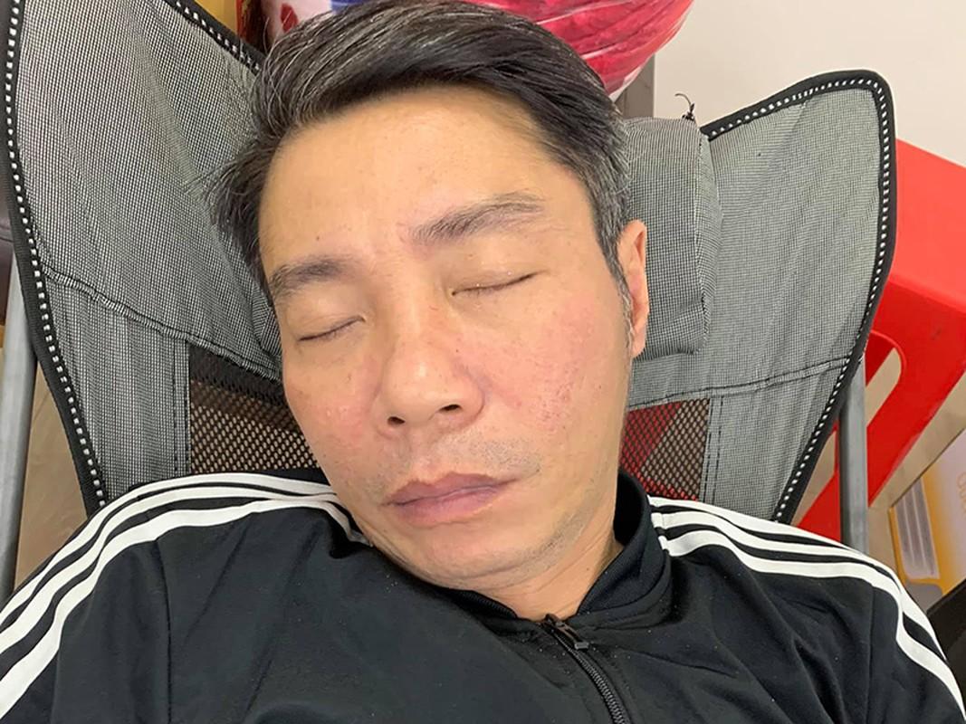 Cong Ly met moi, ngu thiep sau 15 tieng tap Tao quan 2021