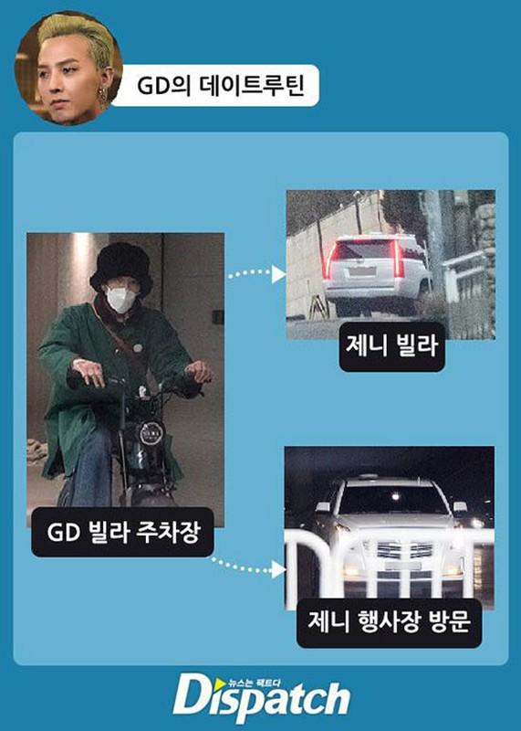 """""""Ong hoang Kpop"""" G-Dragon lo anh hen ho gai xinh nhom BLACKPINK-Hinh-3"""