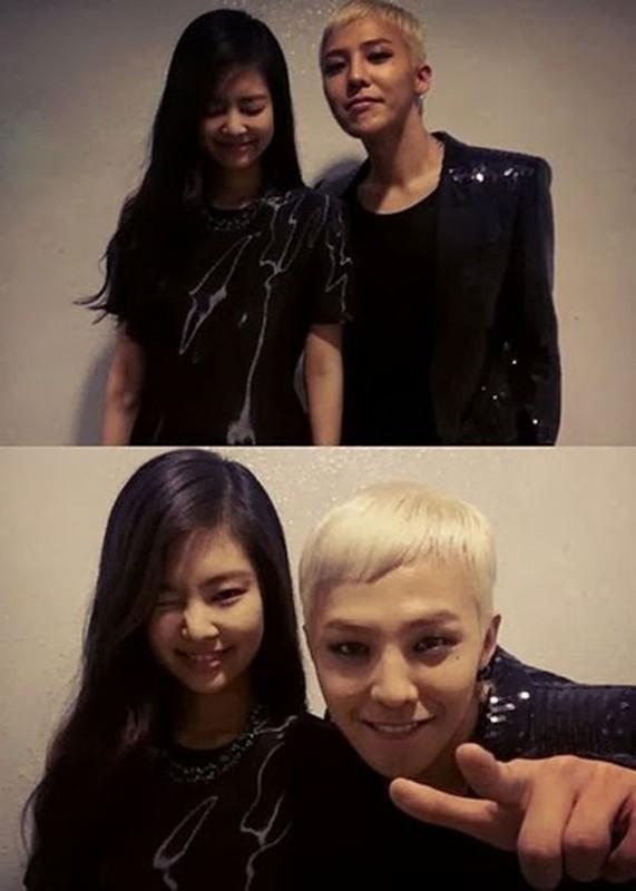 """""""Ong hoang Kpop"""" G-Dragon lo anh hen ho gai xinh nhom BLACKPINK-Hinh-8"""
