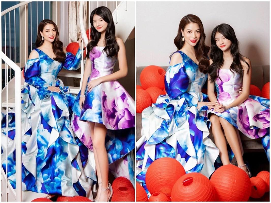 Truong Ngoc Anh va con gai xinh dep cao 1m62 mac dong dieu-Hinh-3