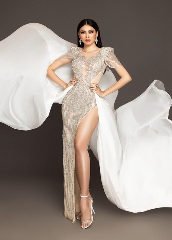 Soi trang phuc cua A hau Ngoc Thao thi ban ket Miss Grand International-Hinh-6