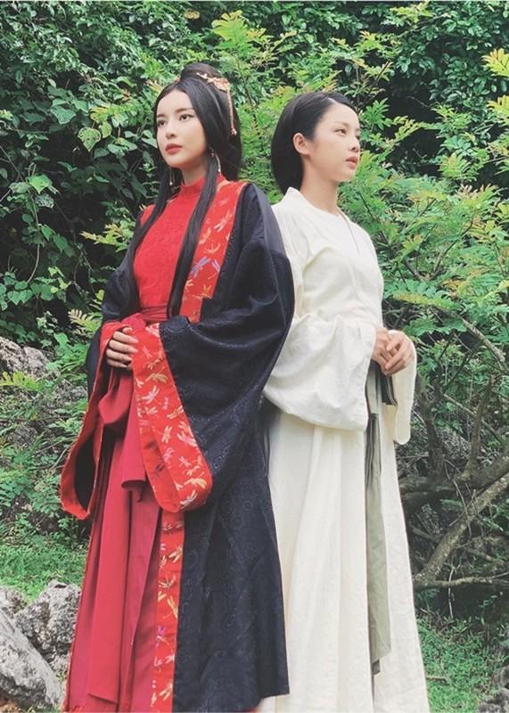 """Do tai sac hai nu chinh phim """"Kieu"""": Trinh My Duyen - Cao Thai Ha"""