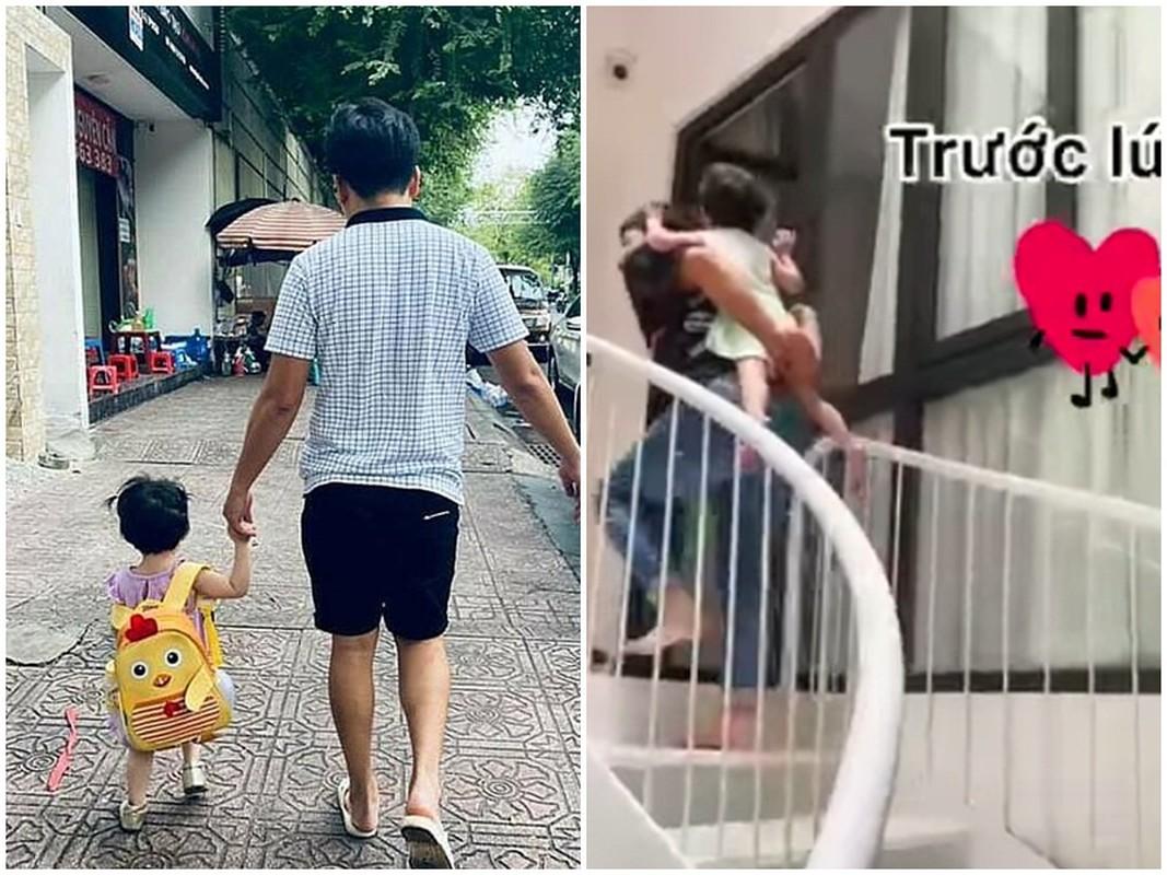 Hinh anh doi thuong hanh phuc cua Truong Giang ben vo con-Hinh-2