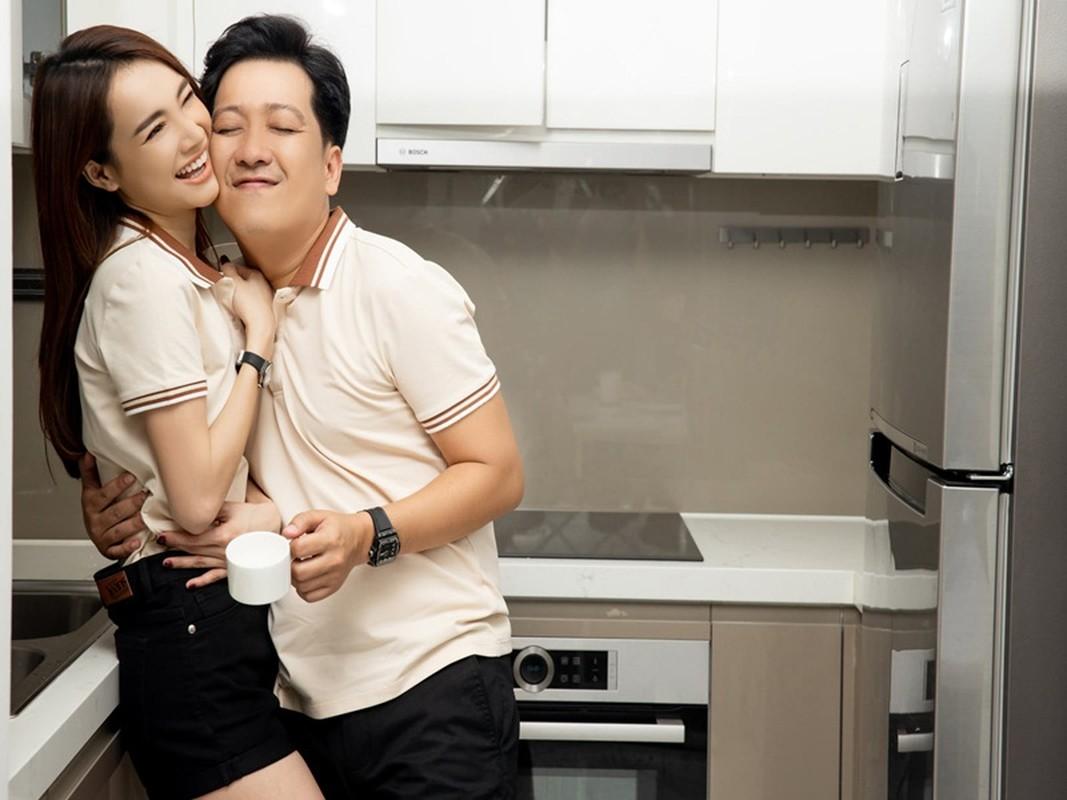 Hinh anh doi thuong hanh phuc cua Truong Giang ben vo con-Hinh-9