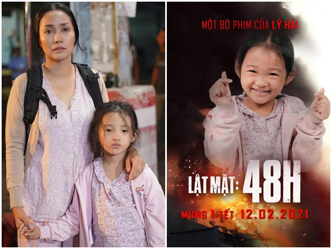 """Ve dang yeu cua be Bao Thi dong phim """"Lat mat: 48h"""""""