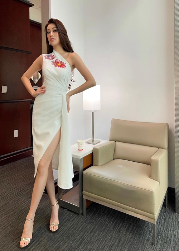 Vua den My, Khanh Van duoc du doan lot top 21 Miss Universe 2020