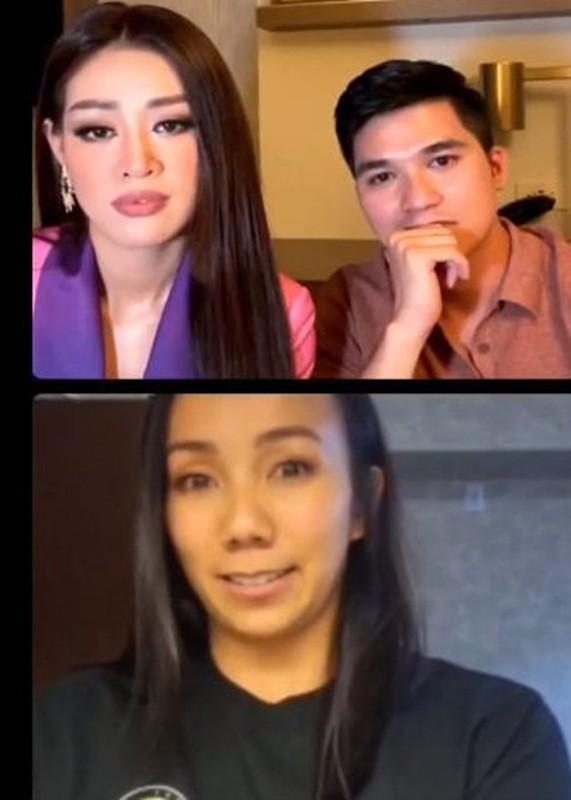 Chuan bi nhap cuoc, Khanh Van duoc moi livestream, khoe an banh mi Viet Nam-Hinh-2