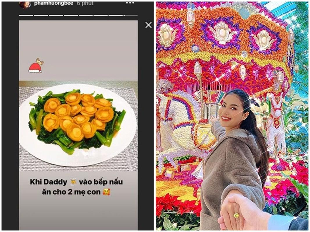 Soi cuoc song cua Pham Huong 3 nam o an sang My sinh con-Hinh-7