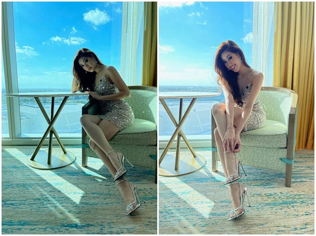 Khanh Van khoe ve ngot ngao goi cam o Miss Universe 2020