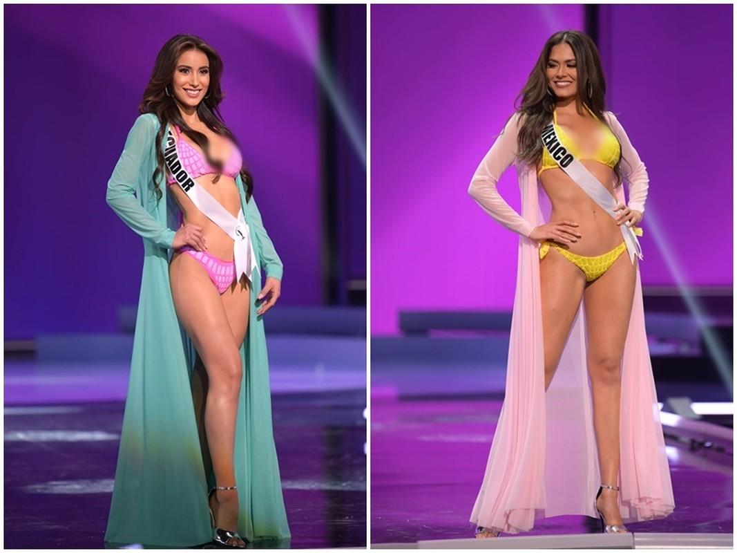 Thi sinh Miss Universe dien bikini khoe than hinh boc lua o ban ket-Hinh-3