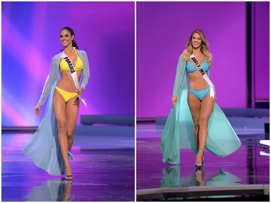 Thi sinh Miss Universe dien bikini khoe than hinh boc lua o ban ket-Hinh-6