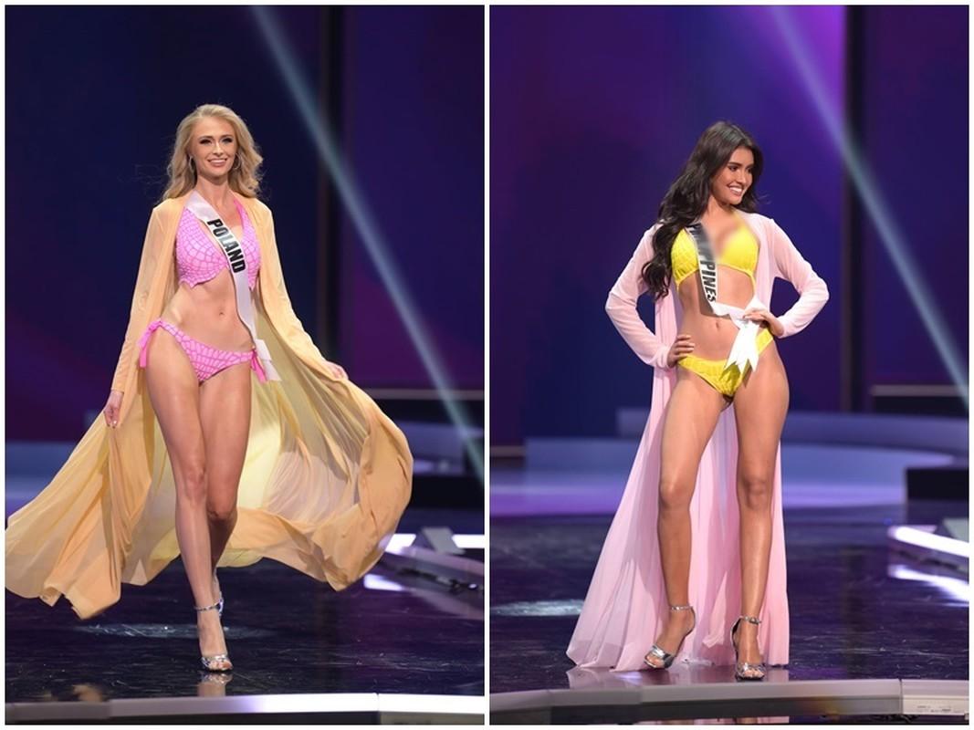 Thi sinh Miss Universe dien bikini khoe than hinh boc lua o ban ket-Hinh-8