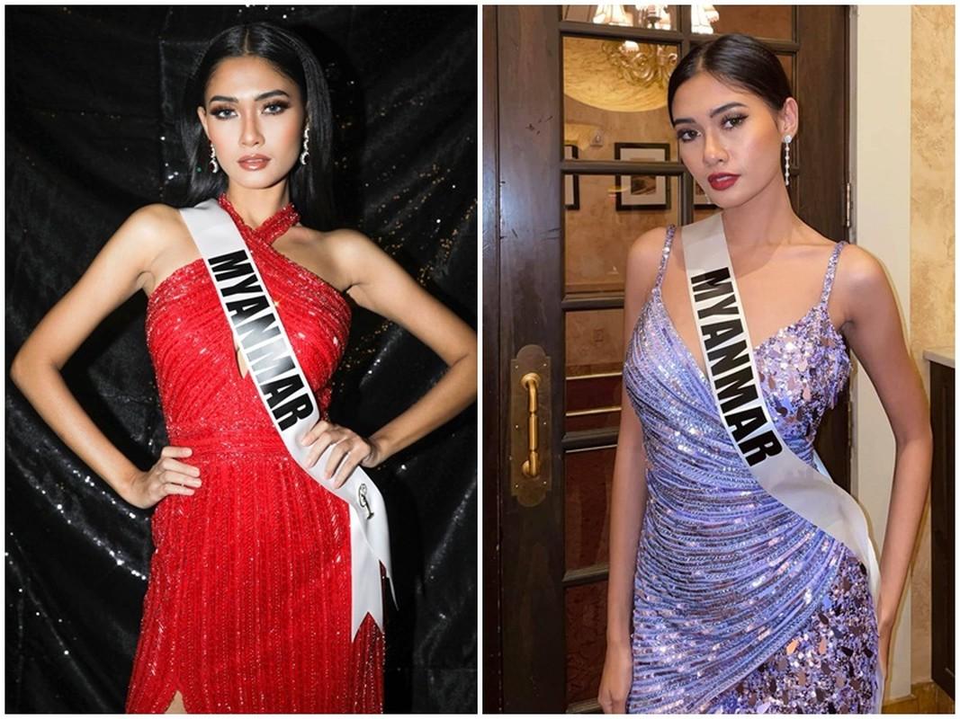 Nhan sac Hoa hau Hoan vu Myanmar lo bi truy na hau Miss Universe