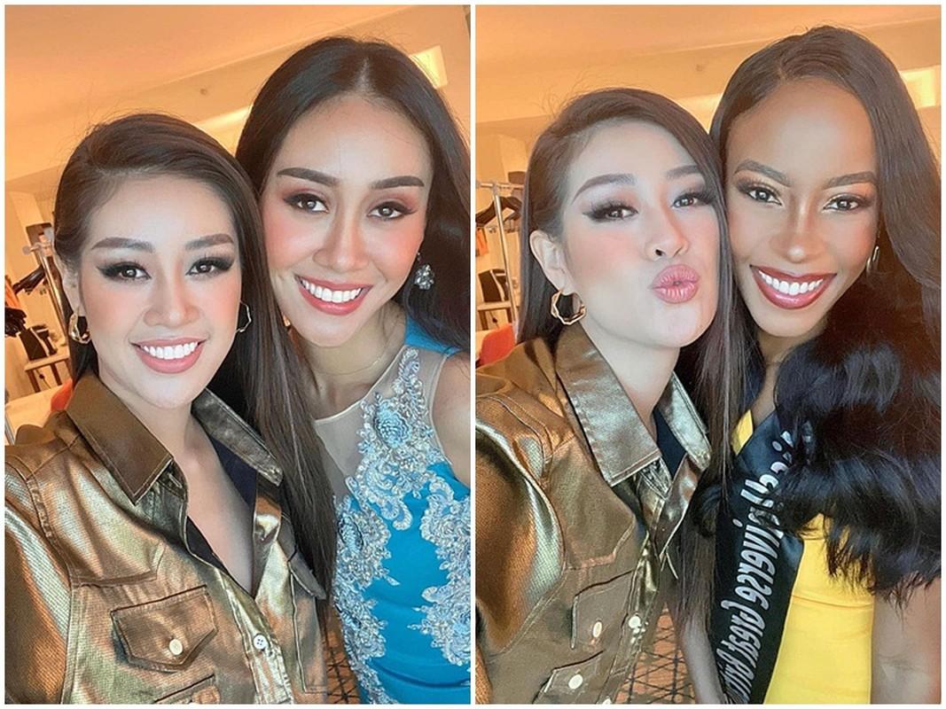 Khanh Van khong no chia tay hoi ban than hau Miss Universe 2020-Hinh-3