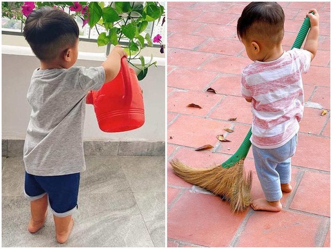 Loat anh dang yeu cua con trai Hoa Minzy tu khi lo dien-Hinh-3