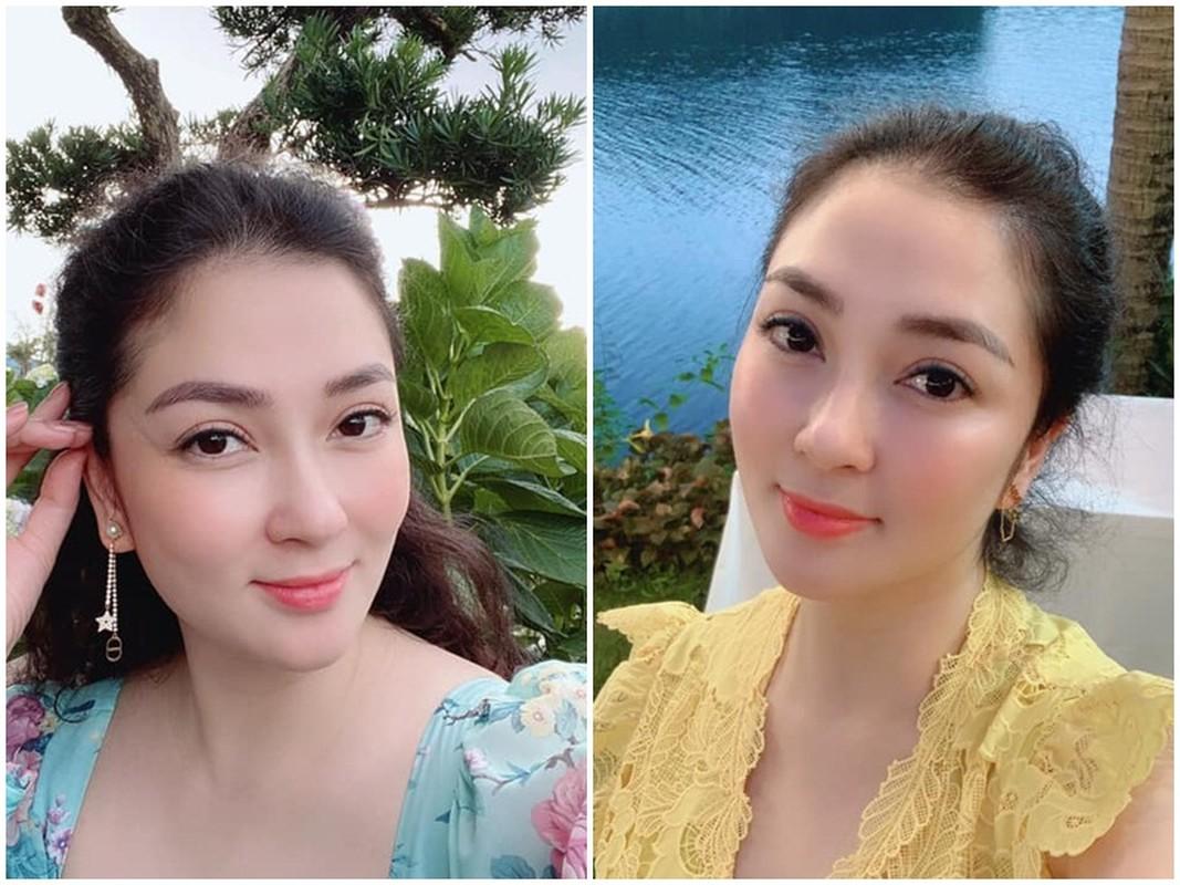 Cuoc song binh yen cua Hoa hau Nguyen Thi Huyen o tuoi 36-Hinh-9