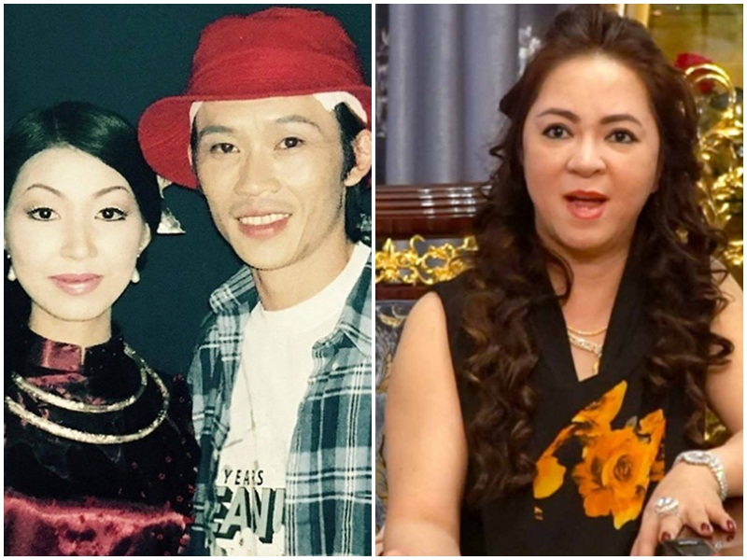 Loat sao Viet benh vuc Hoai Linh giua lum xum voi ba Phuong Hang