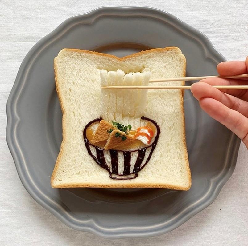 Nhung lat banh mi sandwich dep nhu tranh cua co gai Nhat Ban-Hinh-5