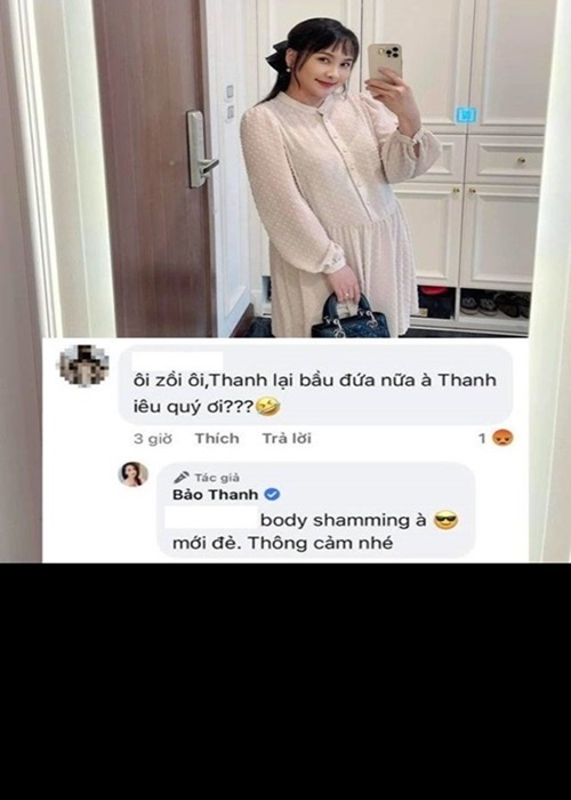 Bao Thanh dan mat antifan che bung to nhu bau lan 3