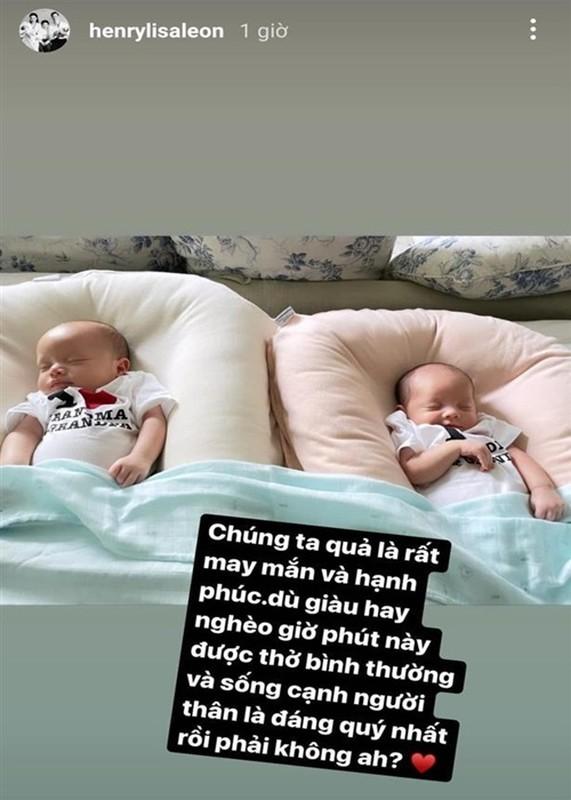 Ho Ngoc Ha ke chuyen sinh non, be Lisa phai dung ong tho-Hinh-6