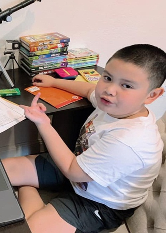 Con trai lon phong phao cua MC Quynh Chi va chong cu Van Chuong-Hinh-6