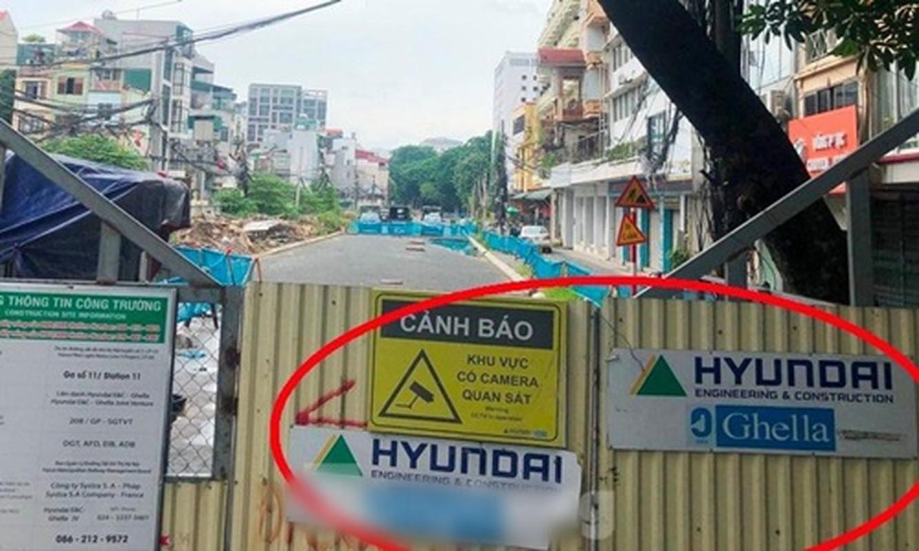 Can canh ga ngam metro Ha Noi bi nha thau nuoc ngoai dung thi cong