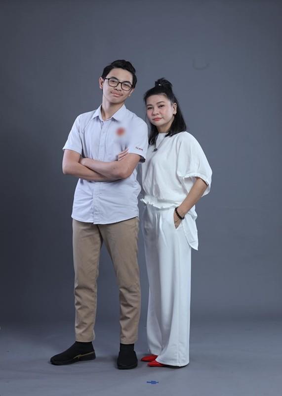 Con trai Cat Phuong - Thai Hoa cao 1m74, ngay cang giong bo