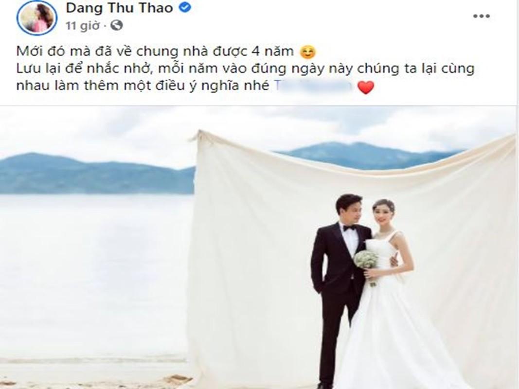 Chong HH Dang Thu Thao noi loi mat ngot ky niem 4 nam cuoi-Hinh-2