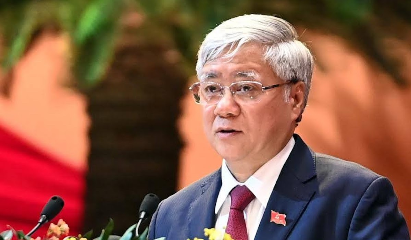 Ong Do Van Chien lam Chu tich Mat tran To Quoc Viet Nam-Hinh-4