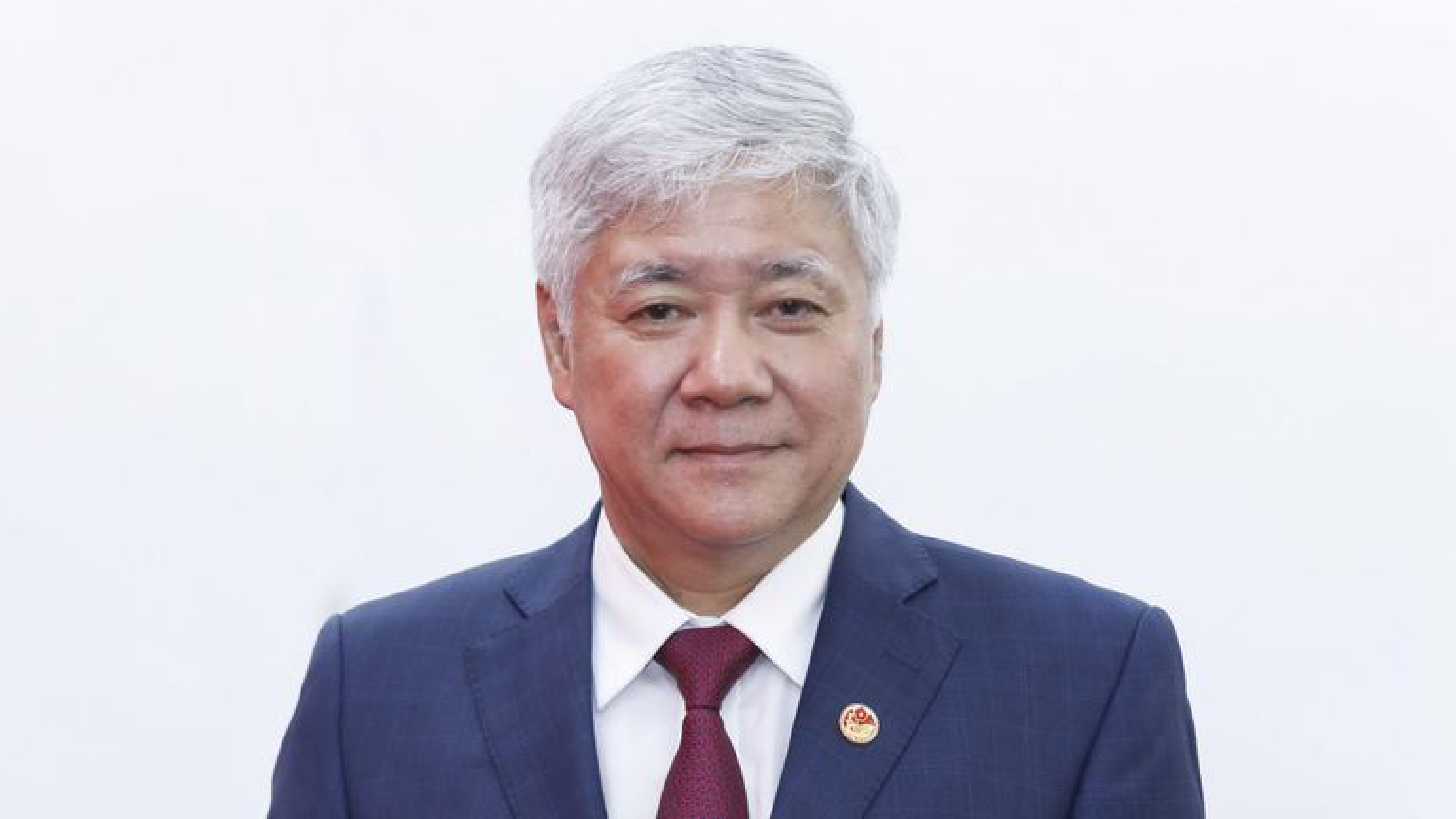 Ong Do Van Chien lam Chu tich Mat tran To Quoc Viet Nam-Hinh-5