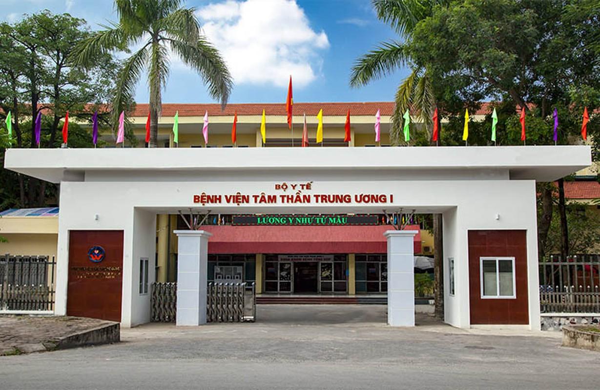 Ha Noi: Bat 1 Truong khoa cua Benh vien Tam than Trung uong 1