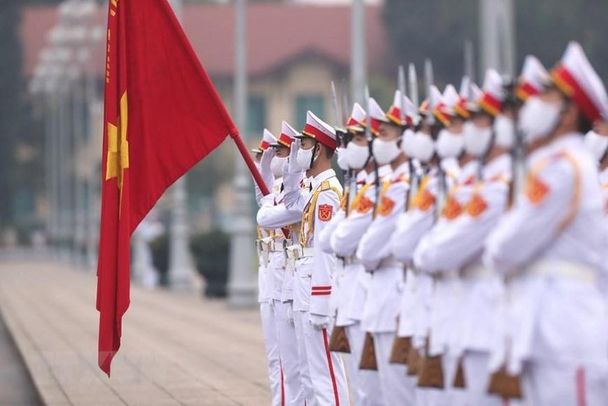 Le thuong co tren quang truong Ba Dinh ky niem 45 nam thong nhat-Hinh-5