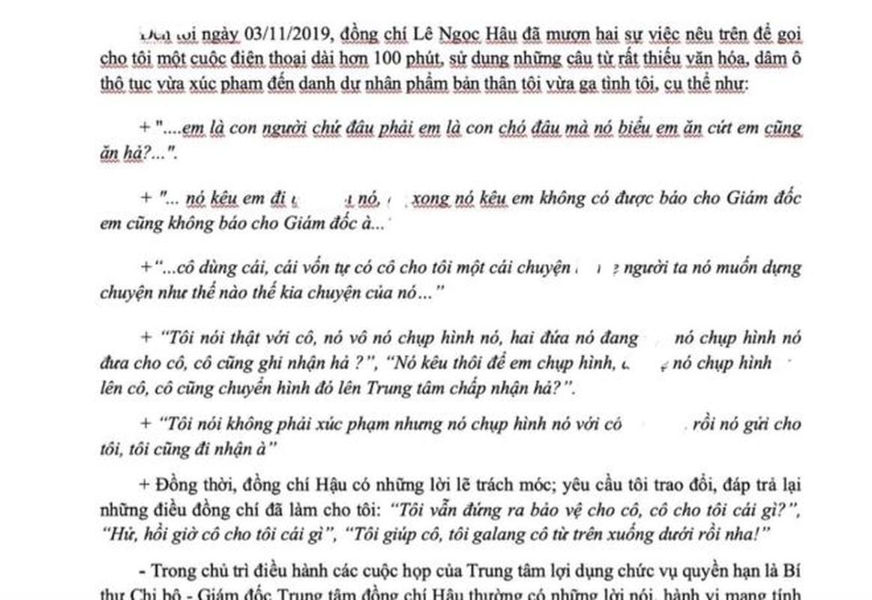 Giam doc Trung tam GDNN ga tinh: Nhung vu quan chuc bien thai-Hinh-2