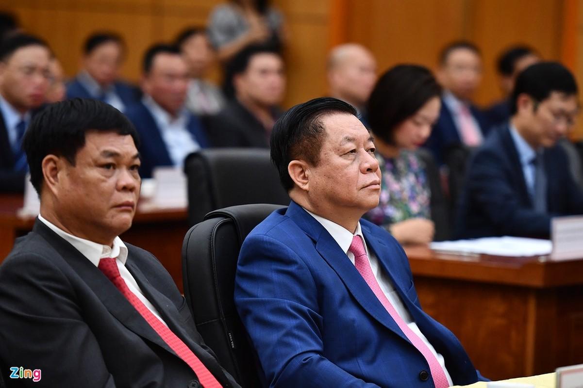 Le nham chuc cua tan Bo truong Cong Thuong Nguyen Hong Dien