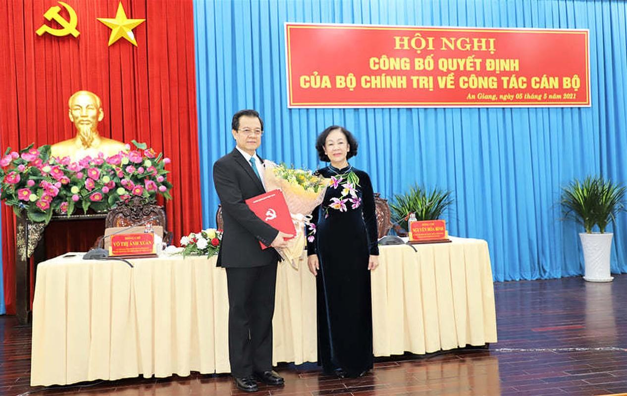 Pho Chanh an TAND Toi cao lam Bi thu Tinh uy An Giang