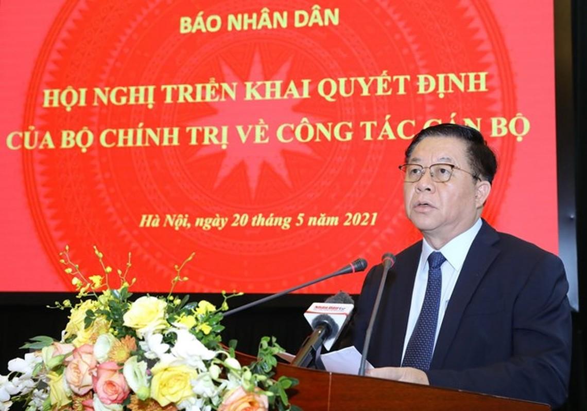 Ong Le Quoc Minh giu chuc Tong bien tap bao Nhan Dan-Hinh-2