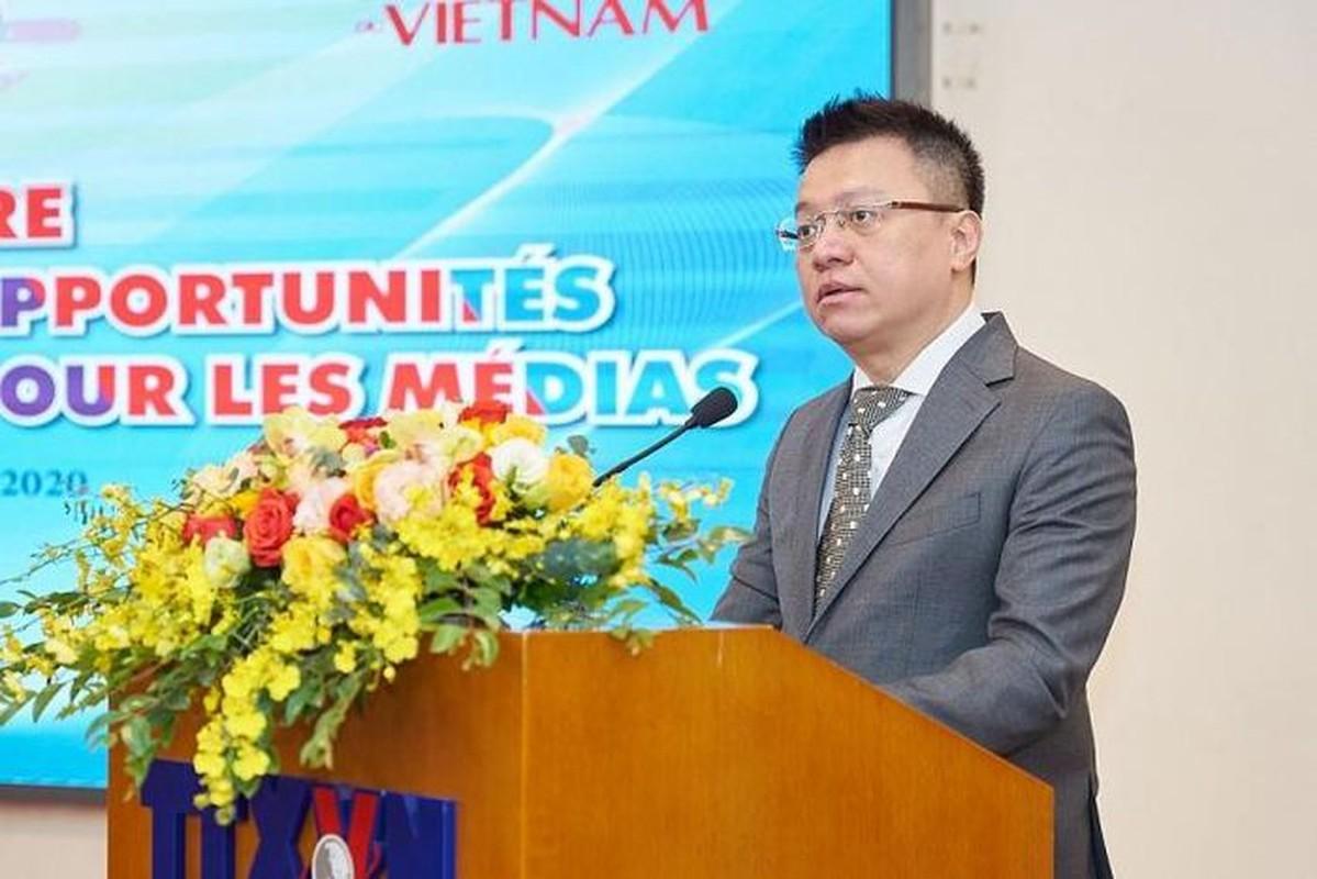 Ong Le Quoc Minh giu chuc Tong bien tap bao Nhan Dan-Hinh-6