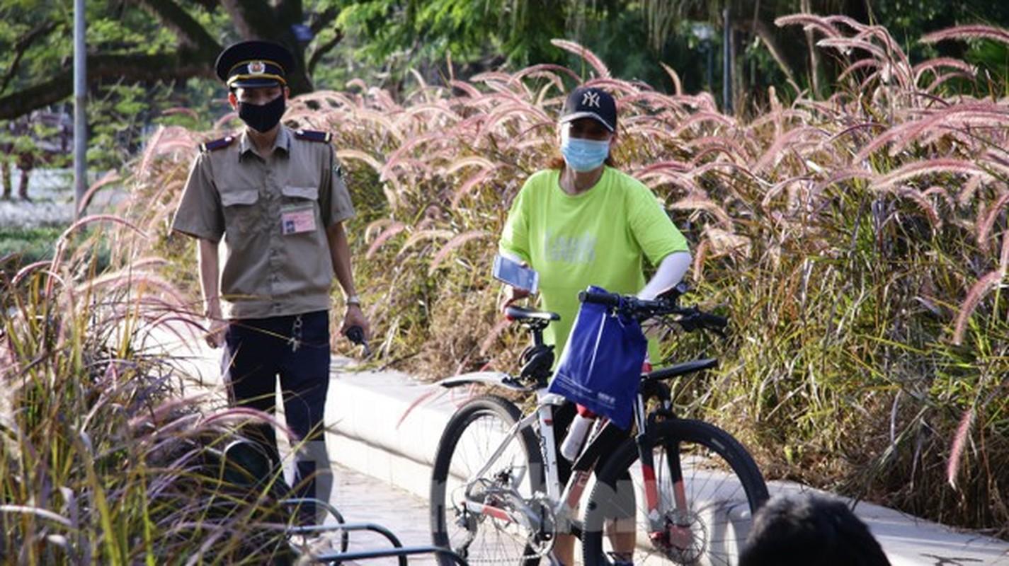 'Bien' nguoi do ra tap the duc, ho Guom thanh 'duong dua xe dap'-Hinh-9