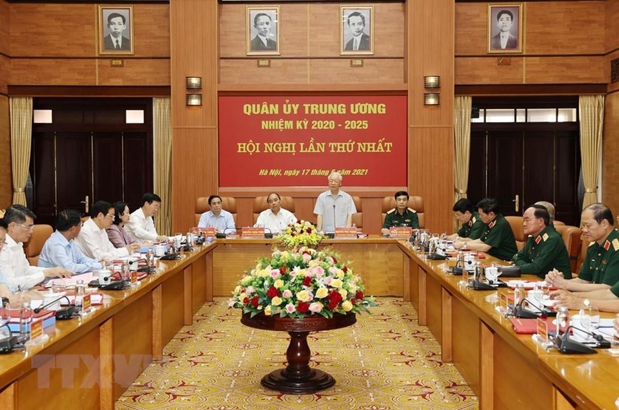 Tong Bi thu chu tri Hoi nghi Quan uy Trung uong lan thu nhat khoa XI-Hinh-2
